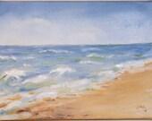 Ocean landscape, Seascape, Original Painting, Oregon coast, beach painting, Ocean painting, beach decor, Original oil, Northwest coast,