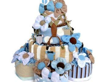 Little Man Baby Shower, Little Man Diaper Cake, Bow Tie Decor, Little Man Shower Decoration, Bow Tie Shower Centerpiece, Baby Shower Decor