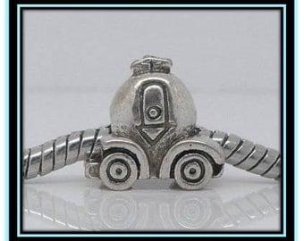 Car ~ Carriage Charm  - Fits European Style Bracelets