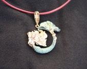 Bronze Mermaid Pendant