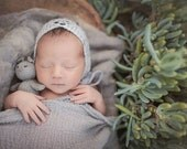 Baby Wrap - Cheesecloth Wrap - Newborn Wrap - Photography Prop - Gray Fog- Wrap - Swaddle - Prop