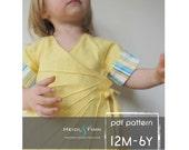 Sweet Sunshine Dress pattern and tutorial 12m-6t PDF Reversible kimono