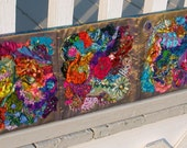 Insane Crazy Quilt Wall Hanging