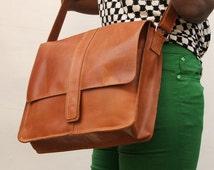 Leather Messenger bag satchel bag leather bag messenger bag for women laptop