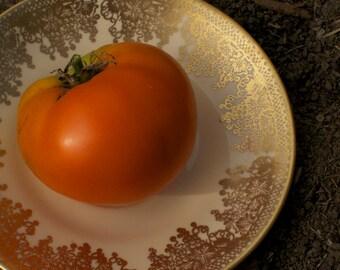 Orange Persimmon Tomato Seeds