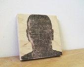 op head art panel. modern decor