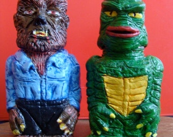 Fish-man  And WereWolf S/P shakers(standard Size)Made to Order
