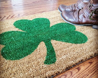Lucky Irish Doormat