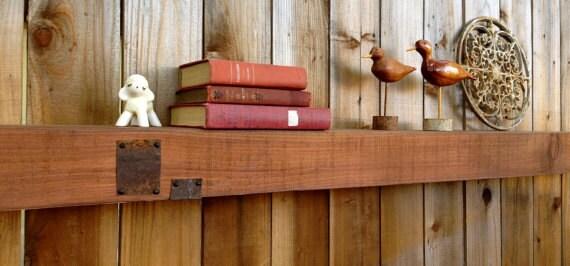 Floating Box Shelf floating wooden box shelf 96 inches long