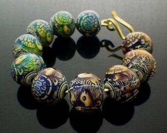 Turtle Island Bangle Kit - Color Changing Mood Beads