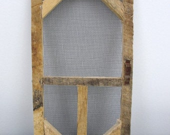 Mini screen door, rustic screen door, screen door to decorate