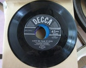 45's, Vintage Music Records, Decca Records, The Andrews Sisters, Can't We Talk It Over and There Will Never Be Another You