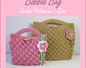 Instant Download PDF - Bobble Bag Crochet Pattern in 2 Sizes