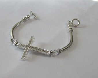 Side Cross Bracelet