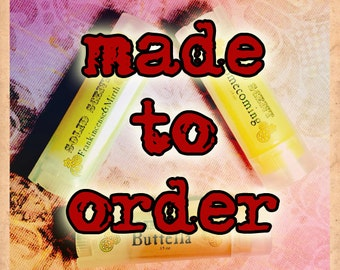 CHOOSE YOUR SCENT- Solid Scent .15oz Tube- Private Stock scent list options
