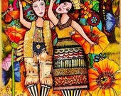 """Wholesale Art Post cards  """"Let's be different Together """" 20 Cards/25.00  Shipping included"""