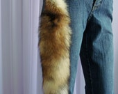 Red Fox Keychain. REAL fur.