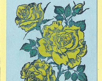 Pretty Yellow Roses-Choice of Type