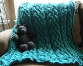 """The """"Baby got Blanket"""" Knit Blanket - Pattern Only - permission to sell what you make"""