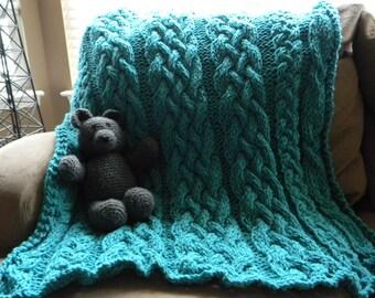 "The ""Baby got Blanket"" Knit Blanket"