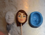 Female Face Food safe silicone face mold