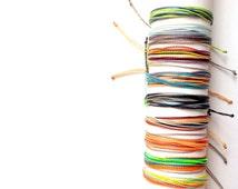 String bracelets. Custom jewelry. Costa Rican bracelets. Surf bracelets. Friendship bracelets. Adjustable bracelets. Multicolored jewelry
