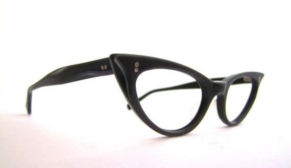 1950 S Cats Eye Eyeglasses Pin Up Nos New Old By