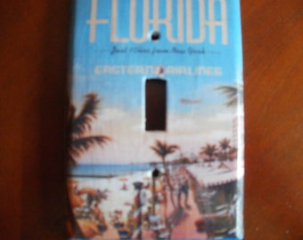 Miami Beach Florida Switchplate Cover