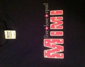 Live Love Spoil - Mimi Tee Shirt