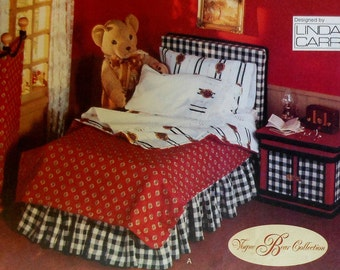 Teddy Bear Bedroom Furniture Sewing Pattern*Vogue 9604*