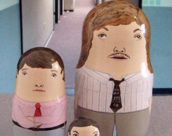 Workaholics Matryoshka Dolls