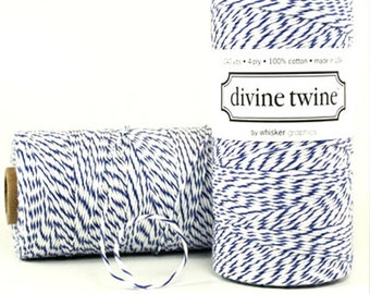 NAVY Bakers Twine Navy Twine 240 Yards Cord Wedding DIY Craft Suppies