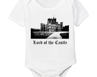 Downton Abbey Inspired - Lord of the Highclere CastleOrganic  Baby Bodysuit