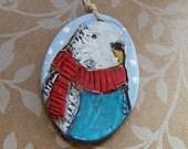 Budgie Parrot Ornament