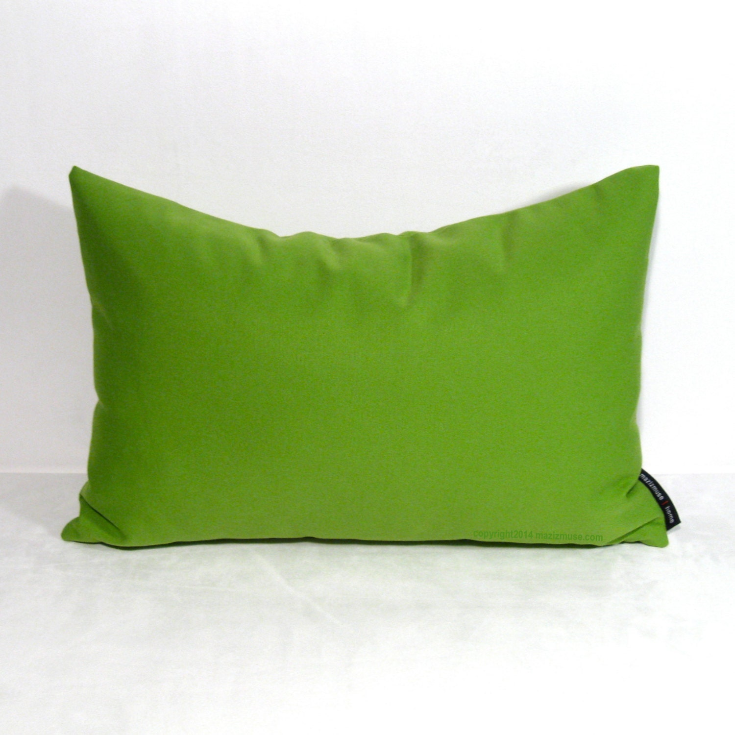 Lime Green Outdoor Pillow Cover Decorative Green Pillow
