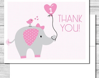 Thank you Notes--Our Little Peanut/Elephant--514S