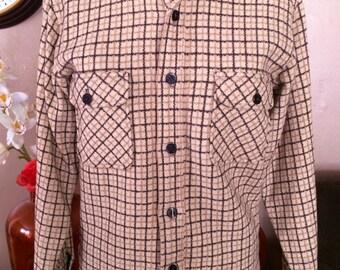 Vintage Mens/Womens Shirt Jacket