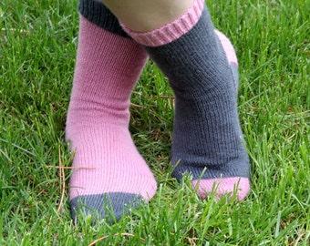 KNITTING PATTERN-Not So Crazy Socks, Sock Pattern