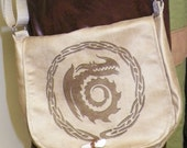 Dragon Crest Satchel Made to Order