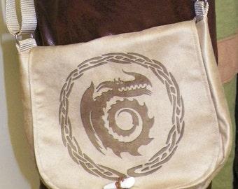 Dragon Crest Satchel Made to Order