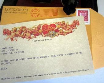 Personalized Love-Gram / Telegram Valentine's Day Greeting