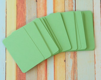 50pc MINT Green Vintage Series Business Card Blanks