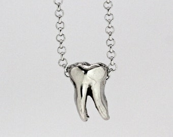 wisdom tooth necklace  Made in NYC