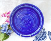 Indigo Blue Serving Plate