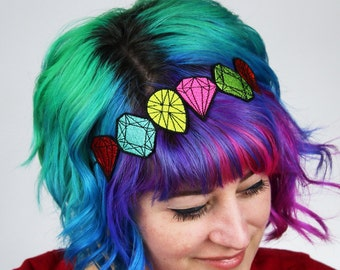 Gem Headband, Janine Basil for Sugar and Vice- Black FRiday Cyber Monday