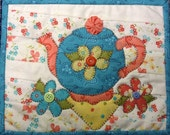 Friendship Tea Mug Rug PDF Pattern