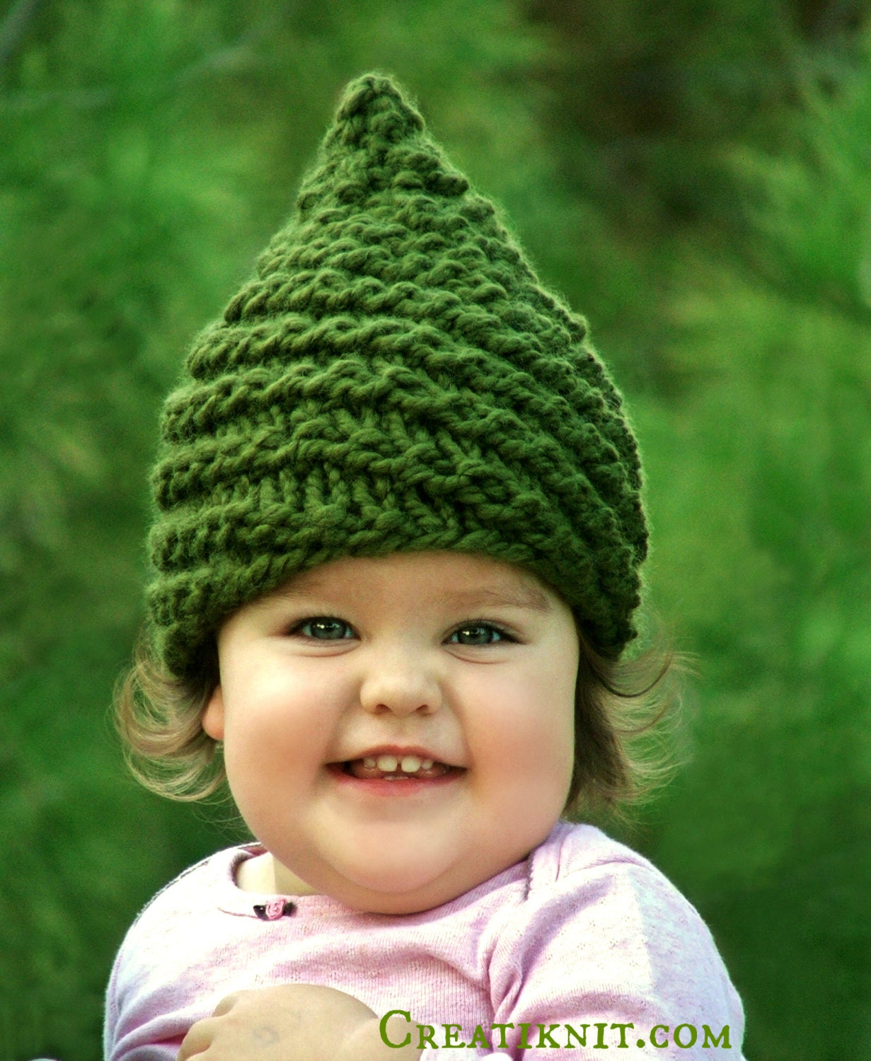 Baby Gnome: Baby Gnome Hat Baby Girl Clothes Gnome Costume Knit By