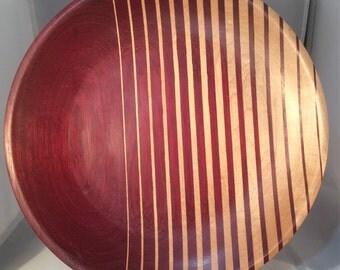 Purpleheart/Maple Plate