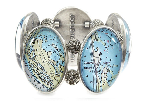 Sanibel Five-Cameo Stretch Bracelet