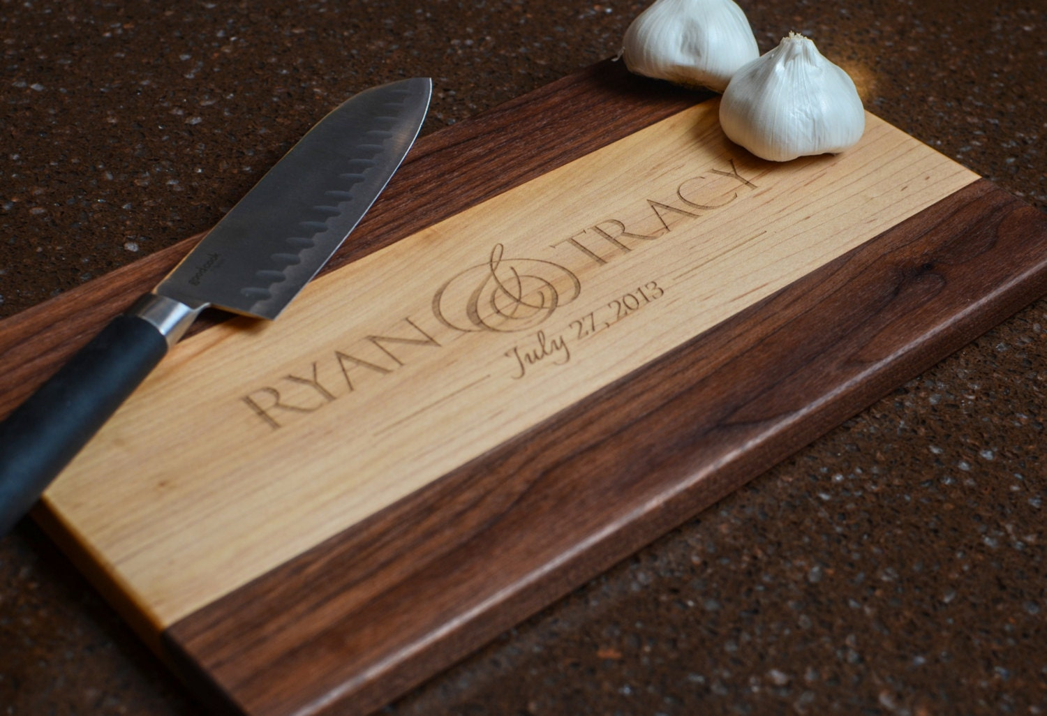 Cutting board personalized cutting board laser engraved maple - Engraved wooden chopping boards ...